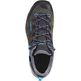 Lowa Sassa GTX Zapatillas bajas Mujer, anthracite/blue